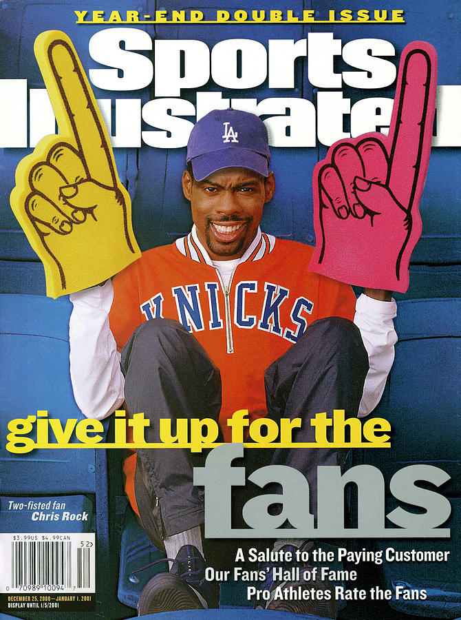 Give It Up For The Fans A Salute To The Paying Customer Sports Illustrated Cover Photograph by Sports Illustrated