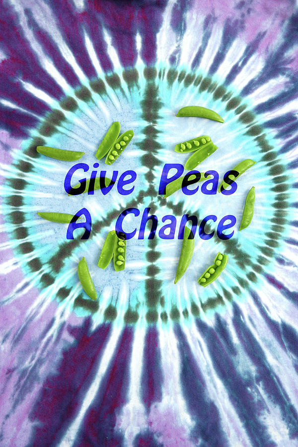 Give Peas a Chance by Patty Colabuono