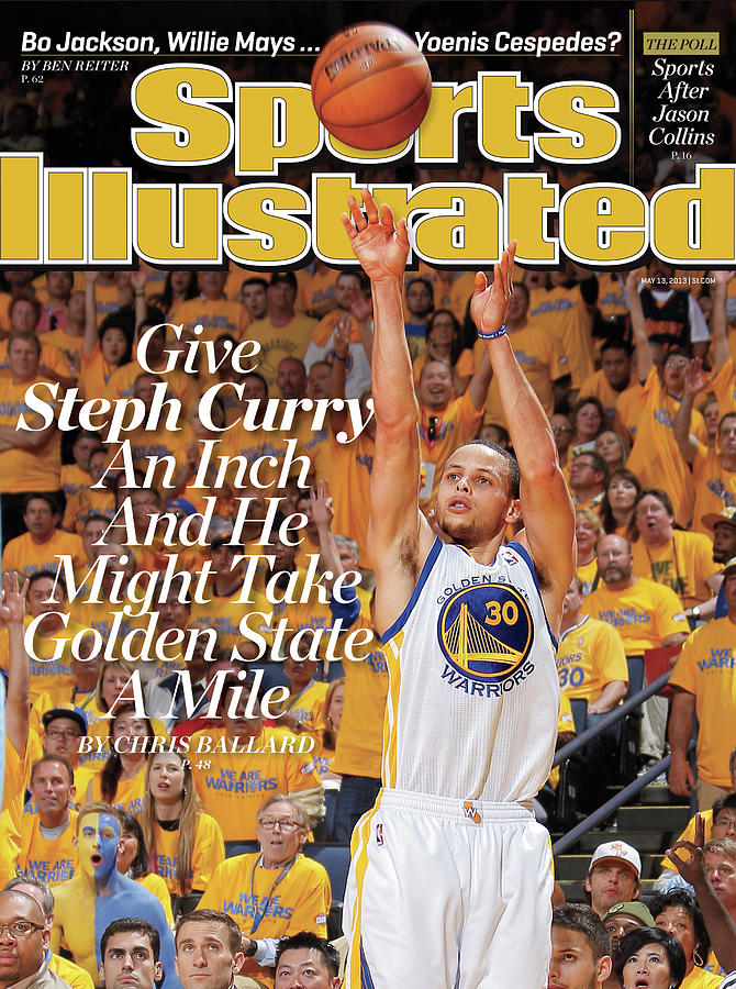 Give Steph Curry An Inch And He Might Take Golden State A Sports Illustrated Cover Photograph by Sports Illustrated