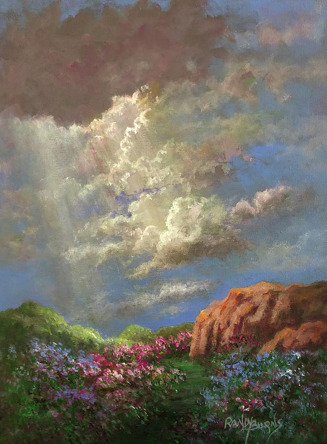 Given The Moment.  His Gift Of Light. by Randy Burns