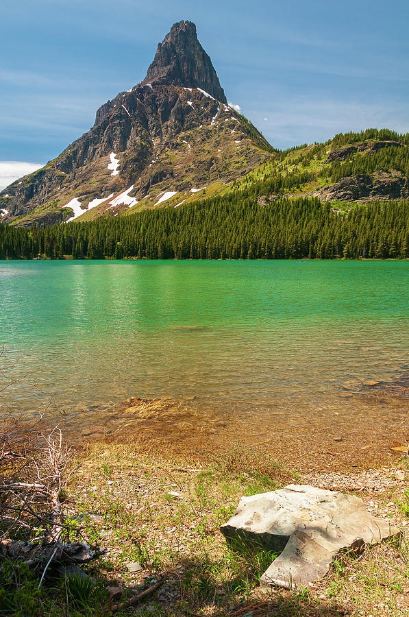 Glacial Lake by Gary Lengyel