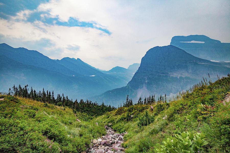 Glacier Canyon Vista by Lon Dittrick