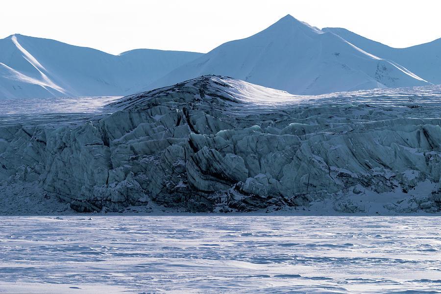 Glacier cracked under pressure by Kai Mueller