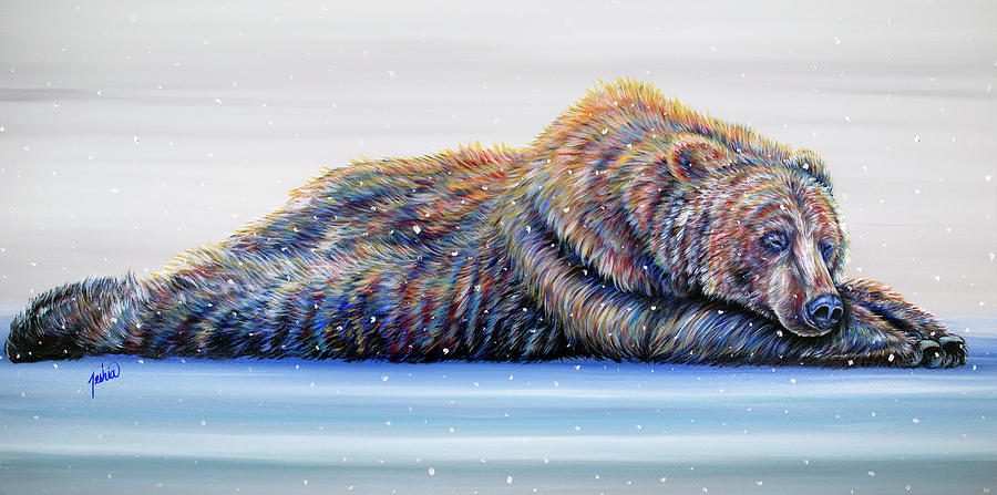 Glacier Griz by Teshia Art