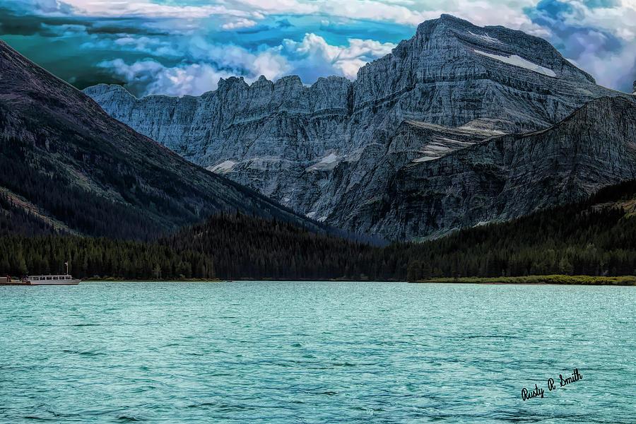 Glacier Nat. Park Landscape. Two Medicine area. by Rusty R Smith