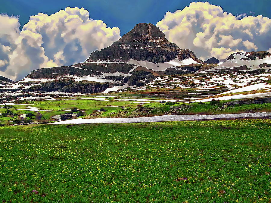 Glacier National Park by Anthony Dezenzio