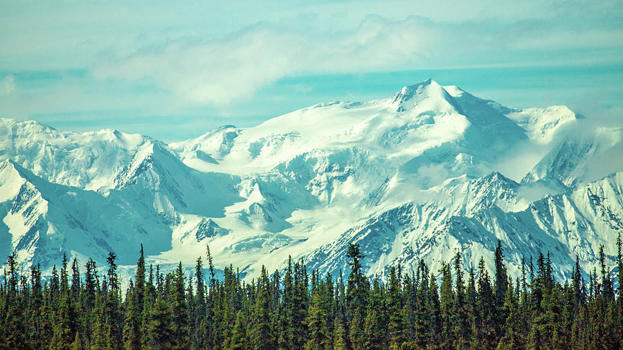 Alaska Photograph - Glacier View by Bill Gallagher