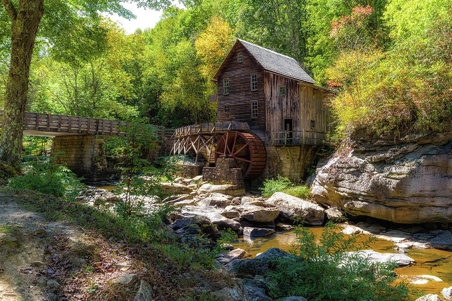 Glade Creek Grist Mill by Lori Coleman