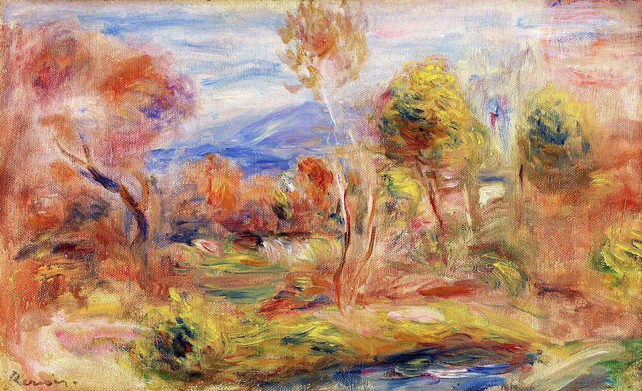 Glade Painting - Glade - Digital Remastered Edition by Pierre-Auguste Renoir