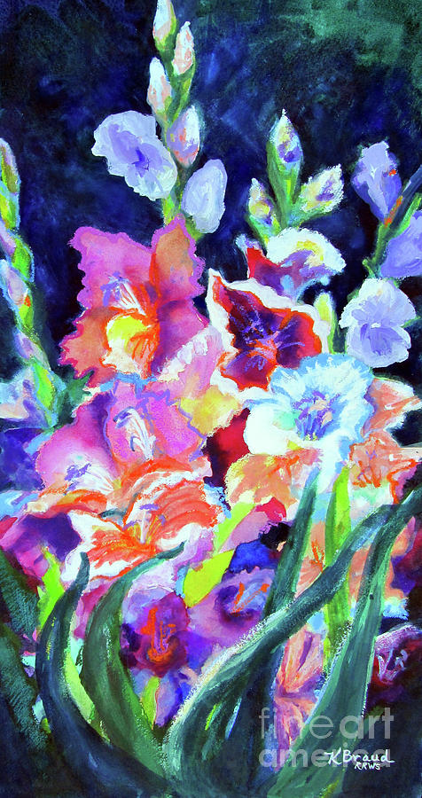 Gladiolus 3 by Kathy Braud