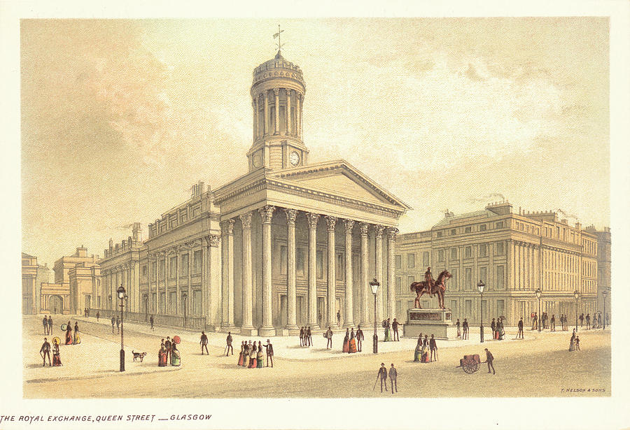 Glasgow Royal Exchange Photograph by Kean Collection