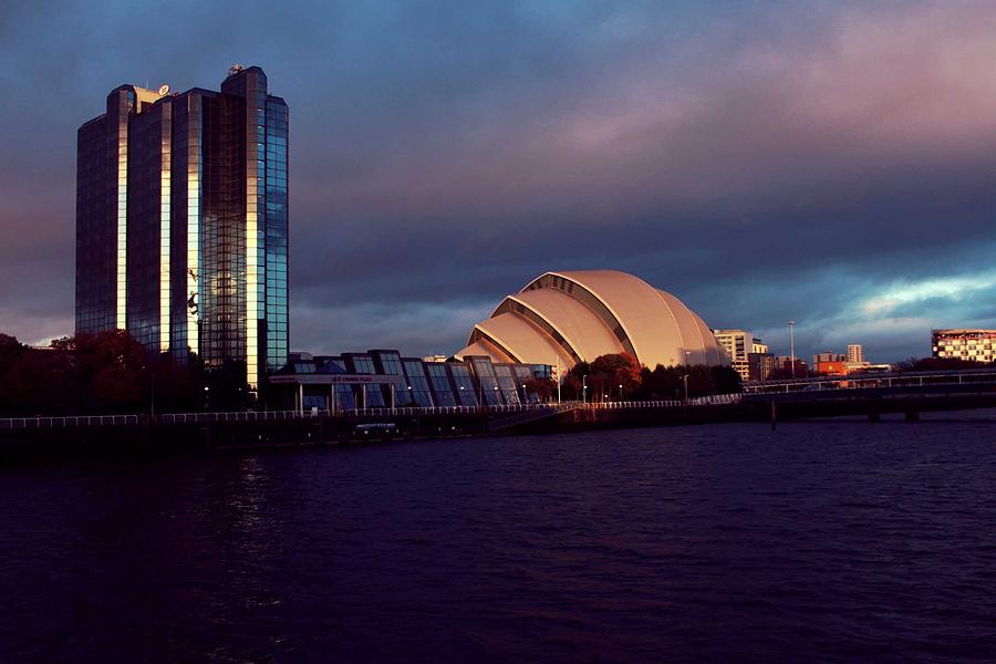 Scotland Photograph - Glasgow sse Hydro by Alister Harper