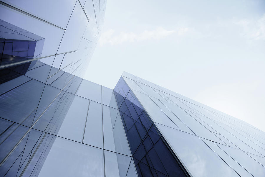 Glass And Steel Office Building Photograph by Crossbrain66