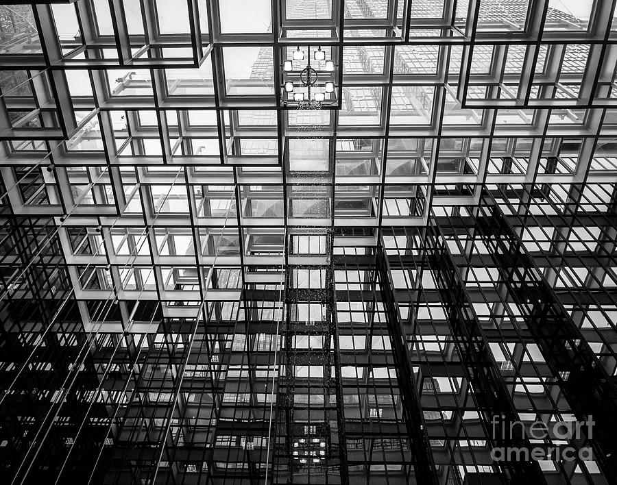Glass Ceiling by Bob Mintie