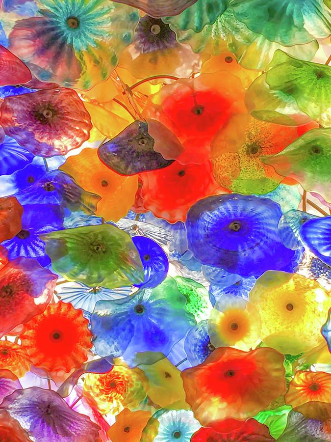 Glass Flowers at Bellagio by Bonnie Follett
