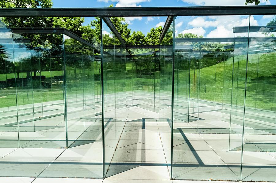 Glass Labyrinth by Joe Kopp