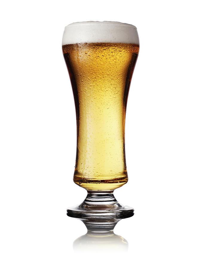 Glass Of Beer Photograph by Jonathan Kantor