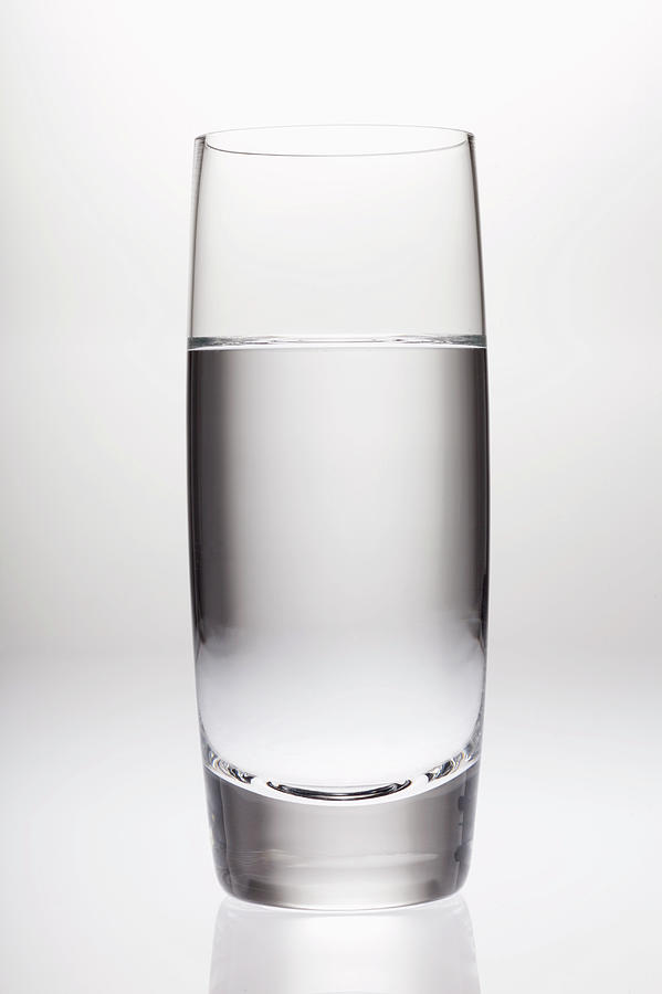 Glass Of Clean Water Photograph by Joho