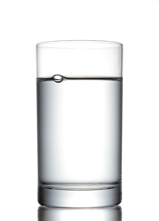 Glass Of Water Photograph by Studiocasper