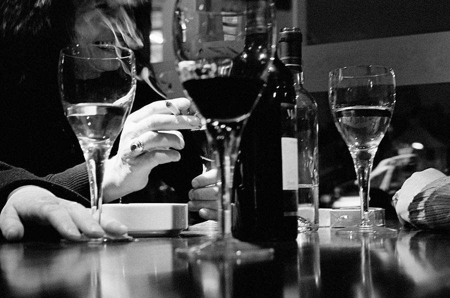 Glasses Of Wine Photograph by Matt Carr