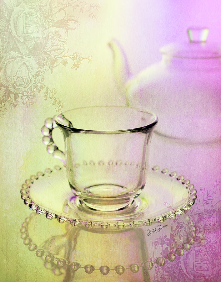 Glassware, Teacup for One by Betty Denise