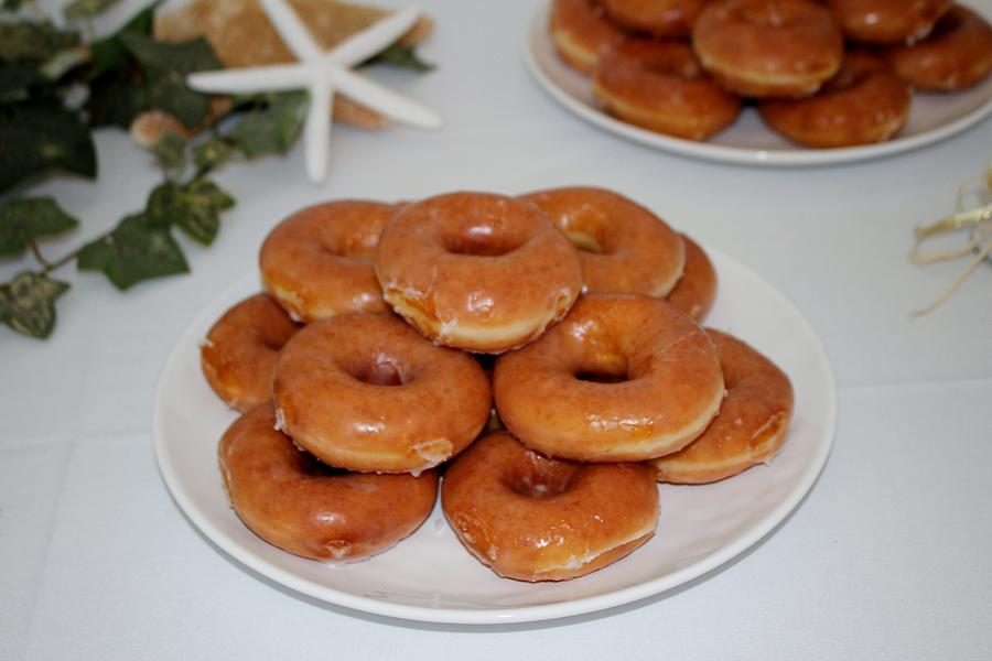 Glazed Donuts  by Cynthia Guinn