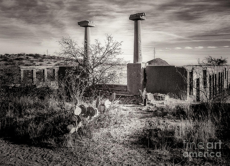 Abandoned Photograph - Gleeson School by Al Andersen