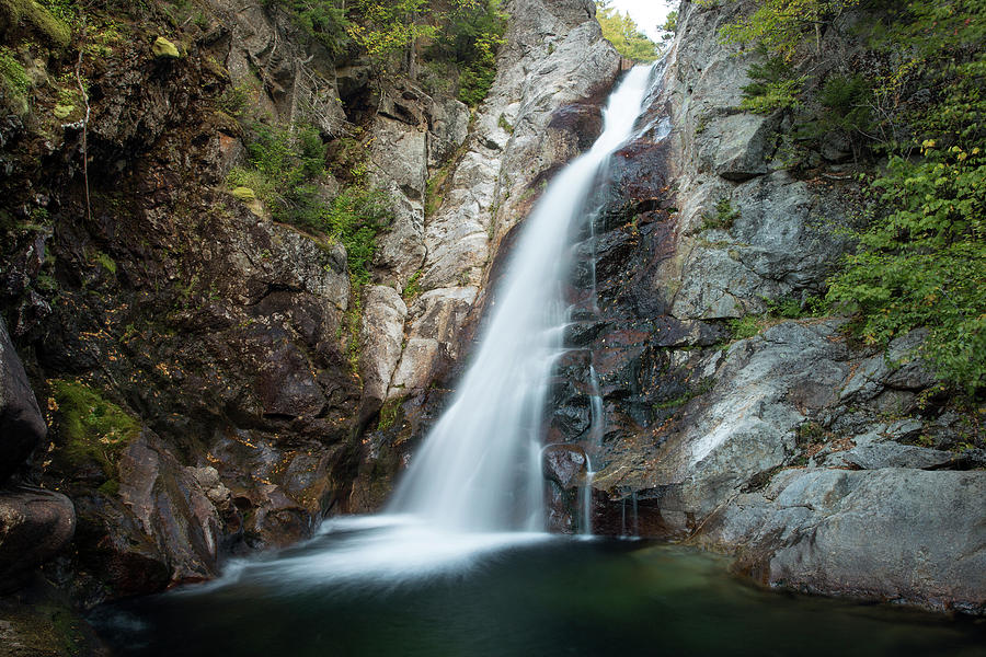 Glen Ellis Falls, New Hampshire by Greg Parsons