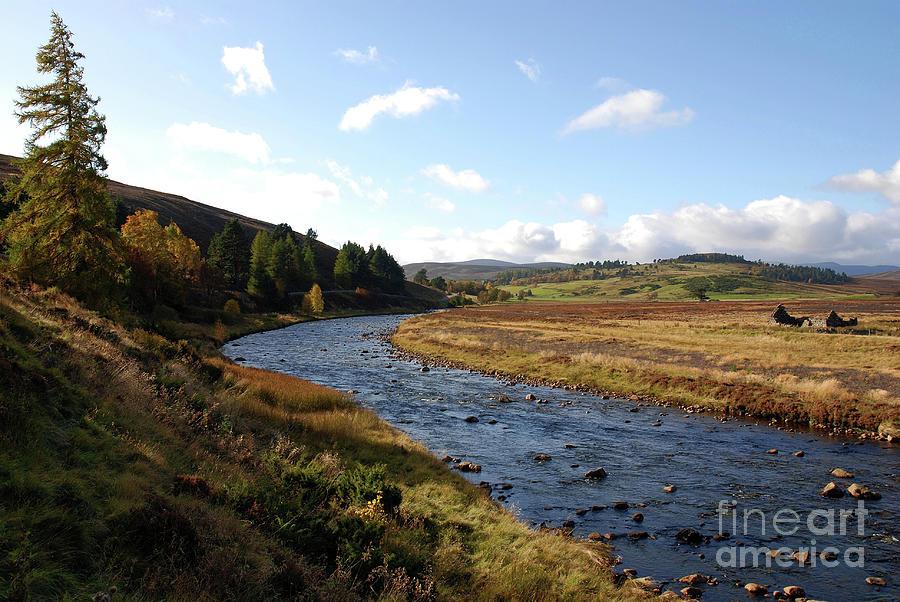 Glen Gairn - Autumn by Phil Banks