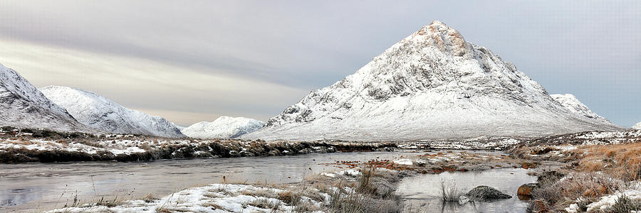 Glencoe Snowy Morning by Grant Glendinning