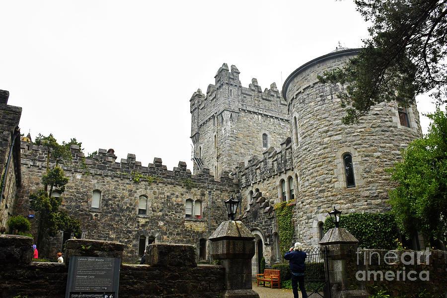 Glenveagh Castle front by Cindy Murphy