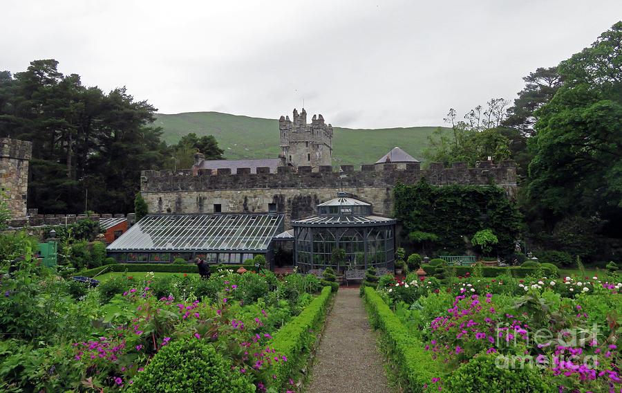 Glenveagh Castle Gardens by Cindy Murphy