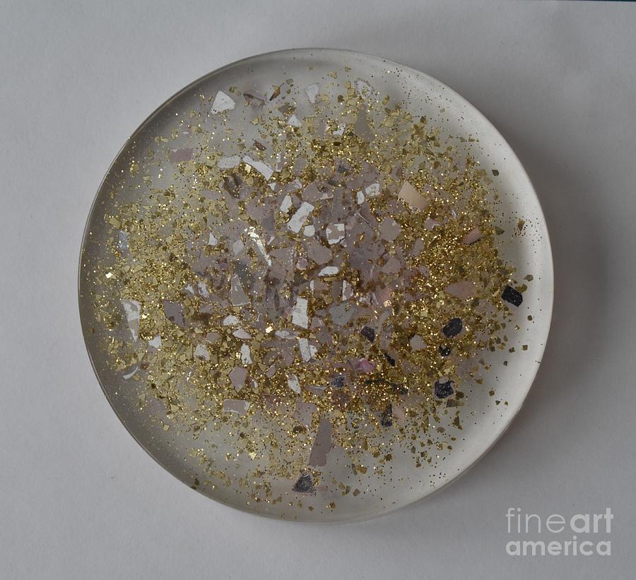 Glitter Coaster by Monika Shepherdson