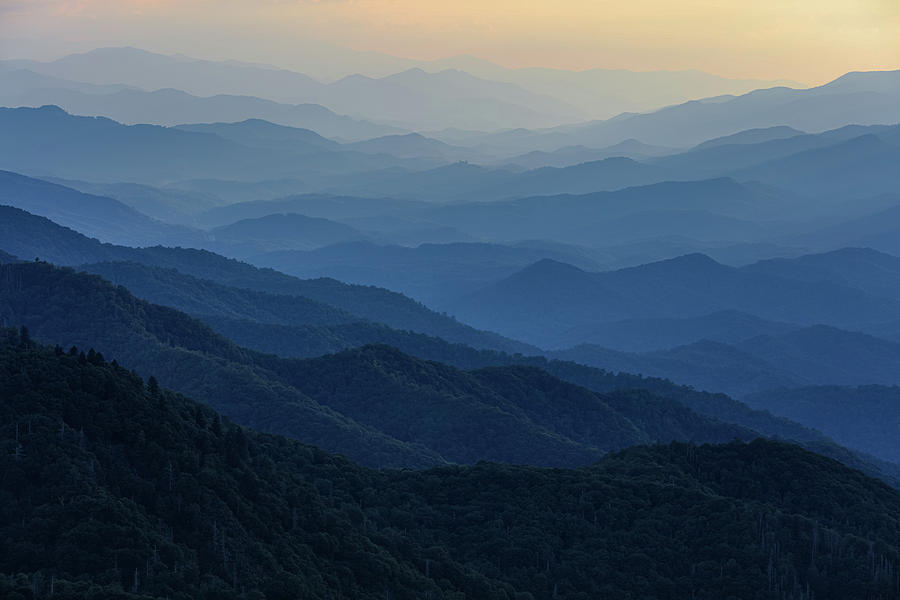 Blue Ridge Bliss - Along the Blue Ridge Parkway in the Southern Appalachian Mountains by Carl Amoth