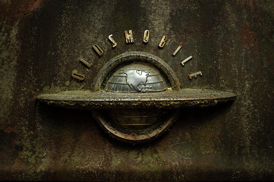 Rust Photograph - Global Chrome by 8th Mile Photography