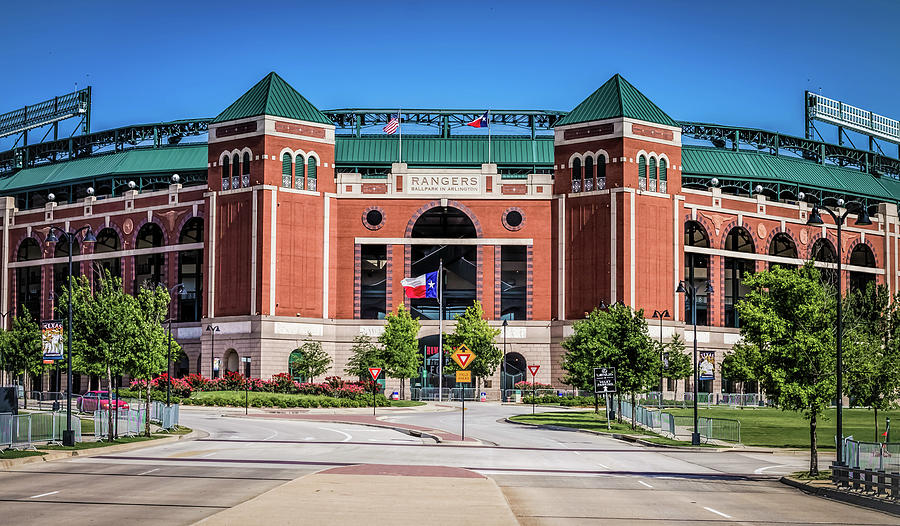 Globe Life Park in Arlington by Robert Bellomy