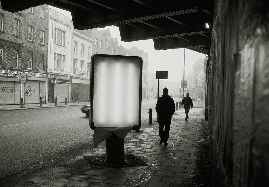 Gloomy Street Photograph by Matt Carr
