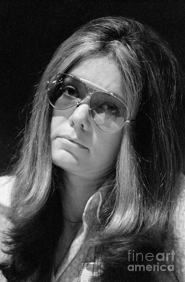 Gloria Steinem At A Public Hearing Photograph by Bettmann