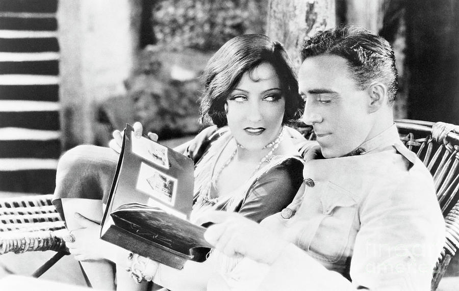 Gloria Swanson And Director Raoul Walsh Photograph by Bettmann