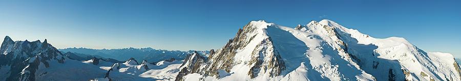 Scenic Photograph - Glorious Mountain Vista Xxxl by Fotovoyager