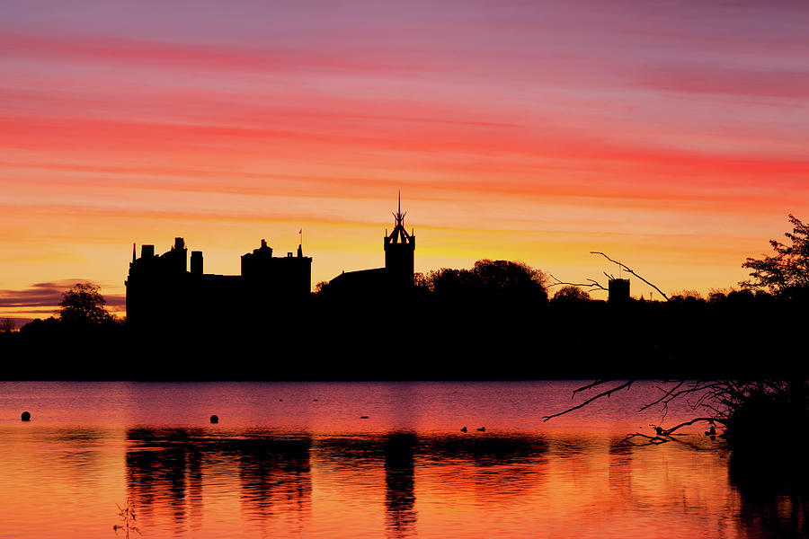 Glorious Sunrise At Linlithgow Palace Photograph by Empato