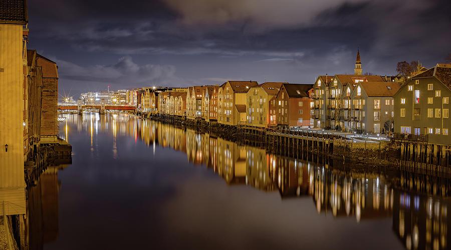 Glorious Trondheim in October  by Aziz Nasuti