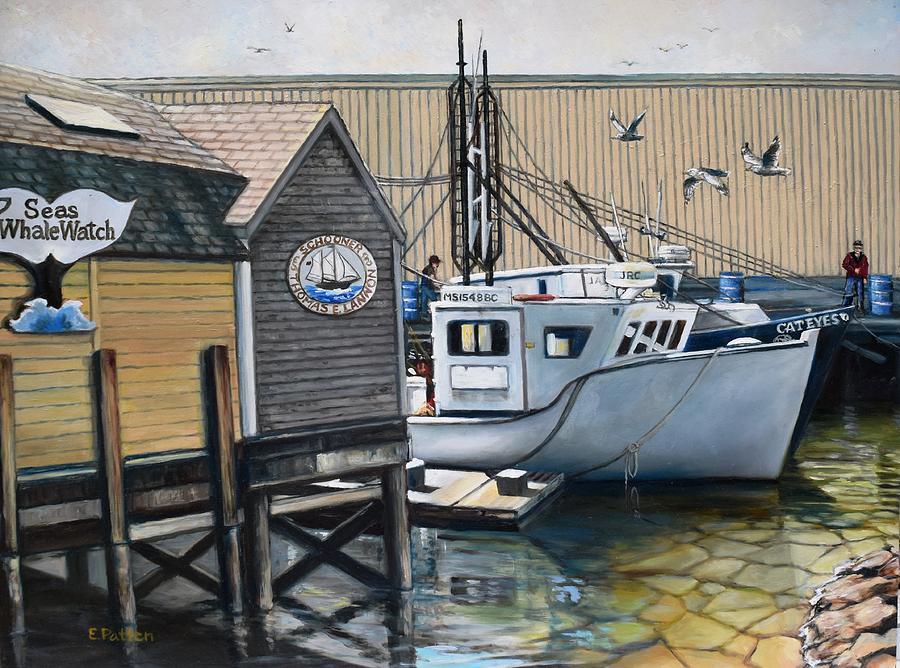 Gloucester Dock by Eileen Patten Oliver
