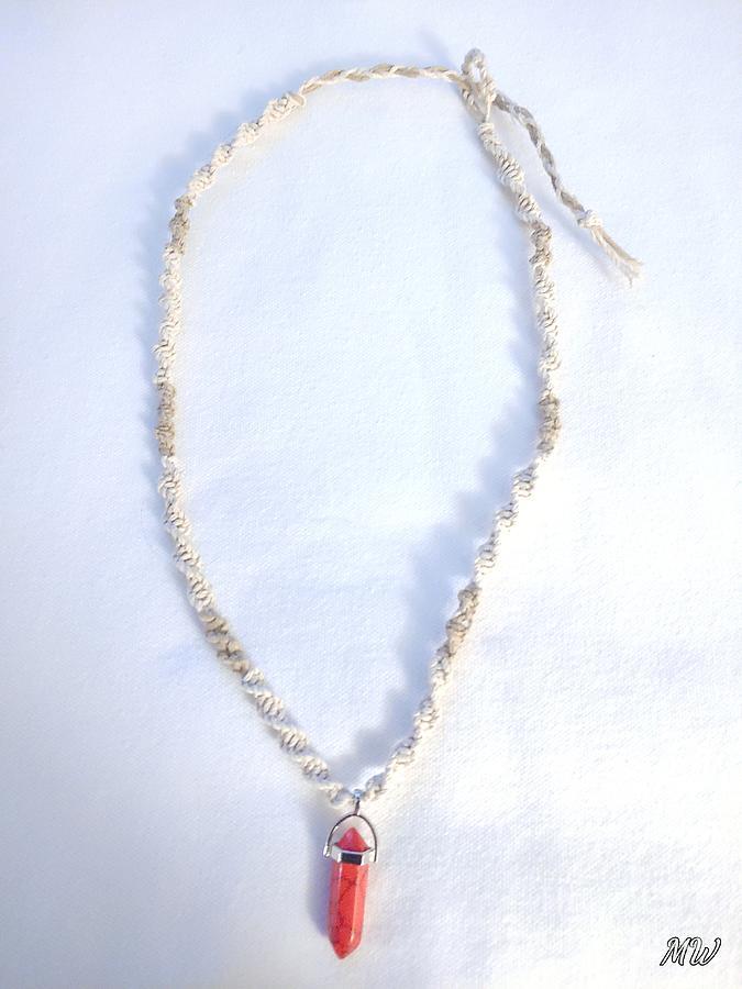 Glow Hemp Necklace by Michelle  White