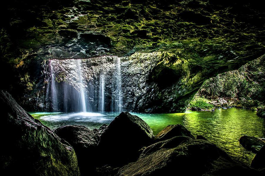 Natural Bridge Photograph - Glow Worm Paradise by Az Jackson