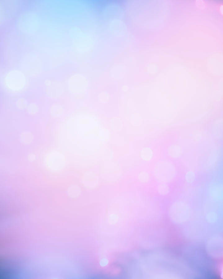 Glowing Blue And Pink Abstract Photograph by Jeja