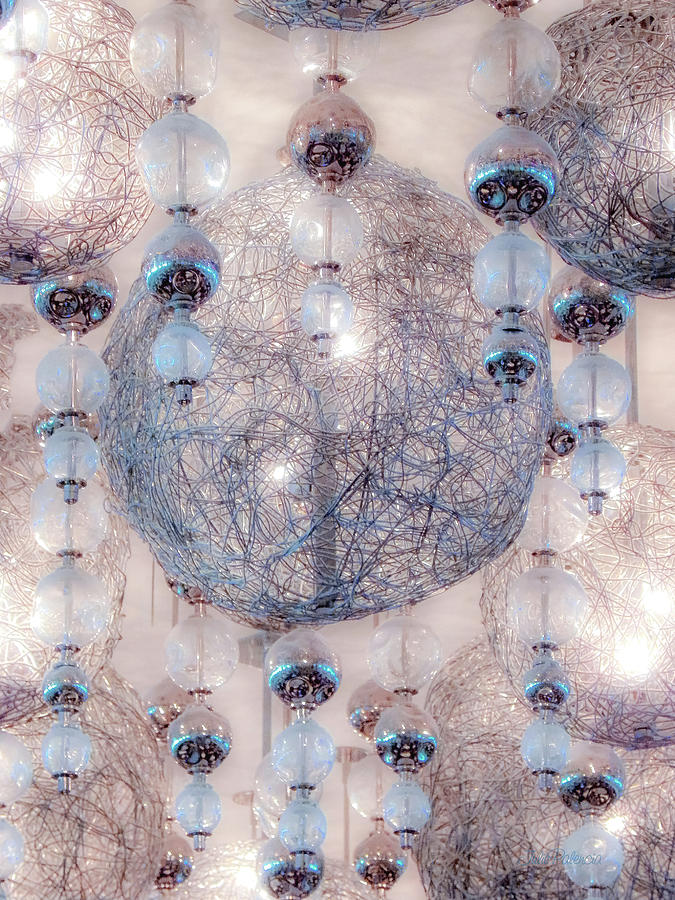 Glowing Crystal Lights by Julie Palencia
