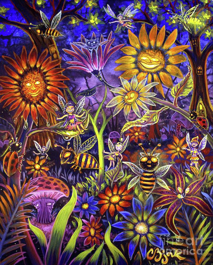 Glowing Fairy Forest by CBjork