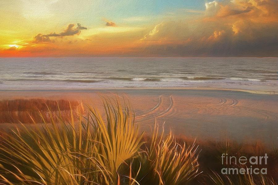 Glowing Sunset by Kathy Baccari