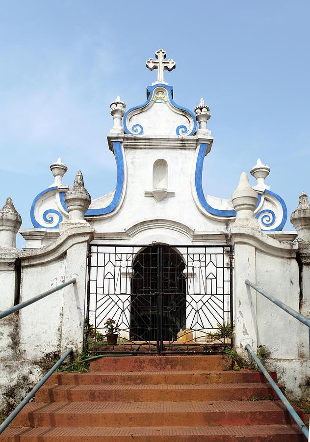 Goa Cemetery Gate Photograph by Sisoje